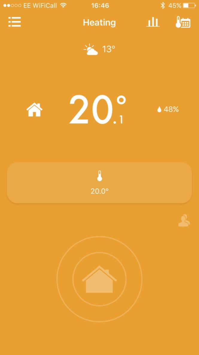tado app - home