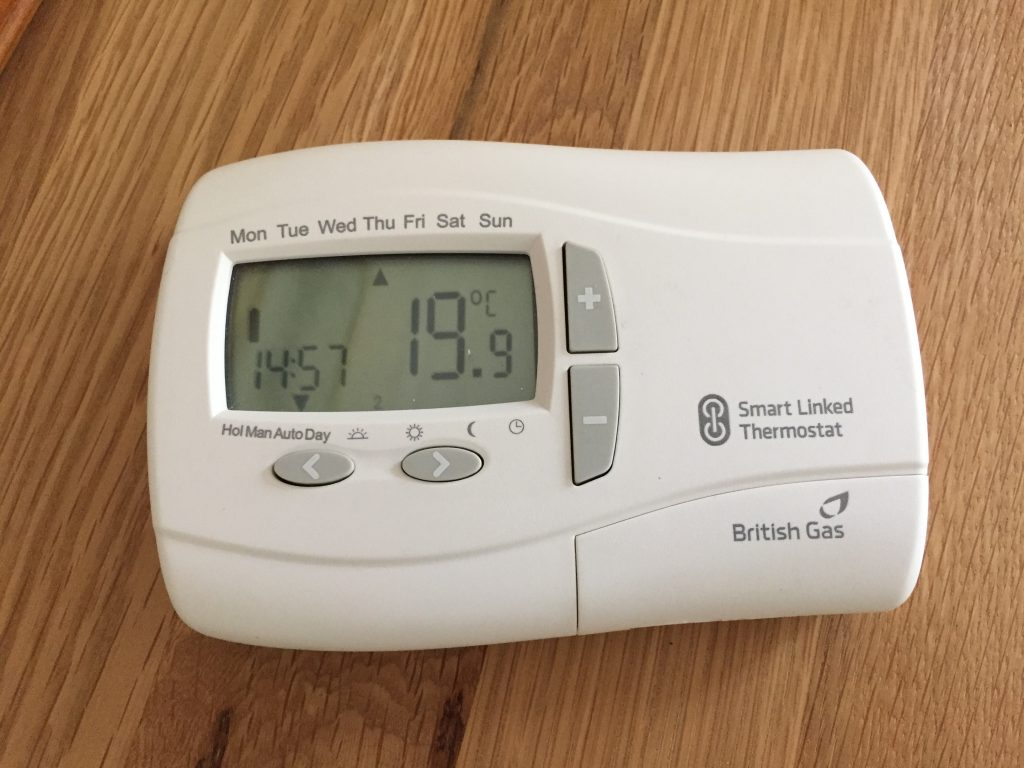 british gas remote thermostat