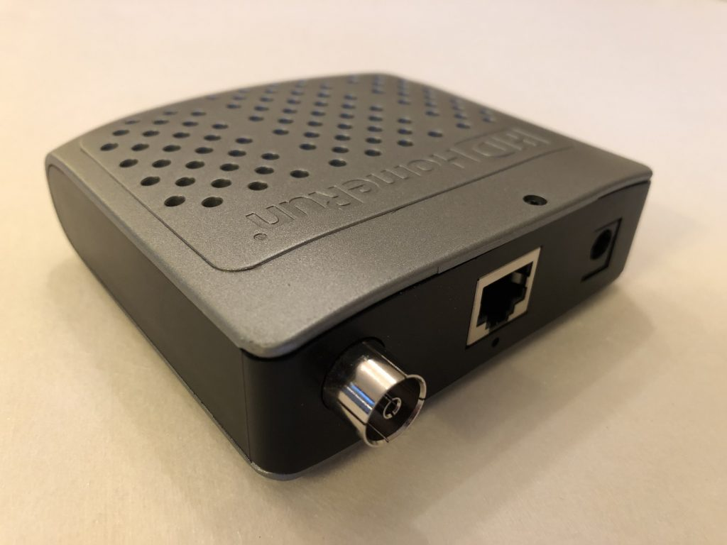 SiliconDust HDHomeRun network attached tuner